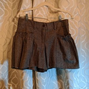 Lux Urban Outfitters striped shorts